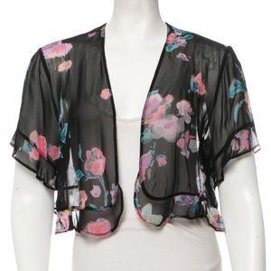 SONIA RYKIEL Paris size XL NWOT top shrug jacket